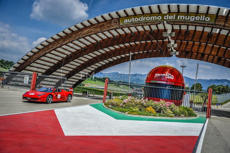Ferrari 458 Italia, Ferrari Cavalcade, Autodromo del Mugello