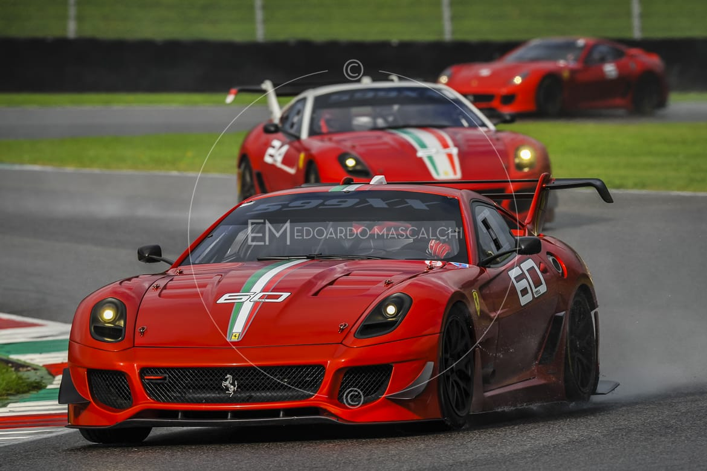Ferrari 599XX, Autodromo del Mugello, Finali Mondiali 2013