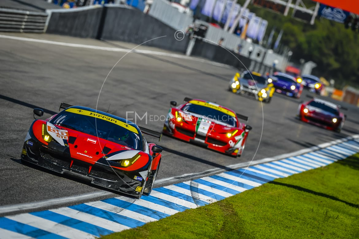 Ferrari 458 GTE, European Le Mans Series, Estoril