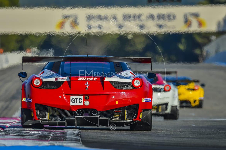 Ferrari 458 GT3, European Le Mans Series, Circuit Paul Ricard