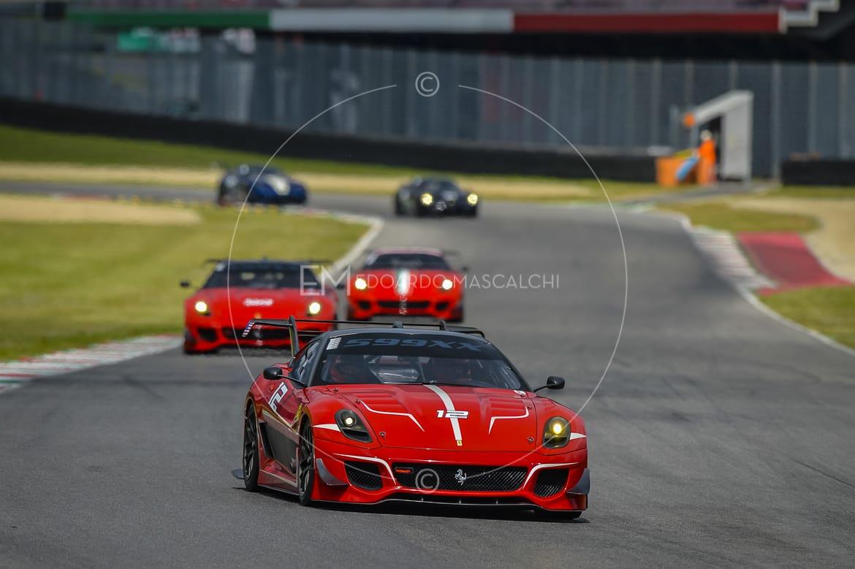 Ferrari 599XX, Finali Mondiali 2015, Autodromo del Mugello