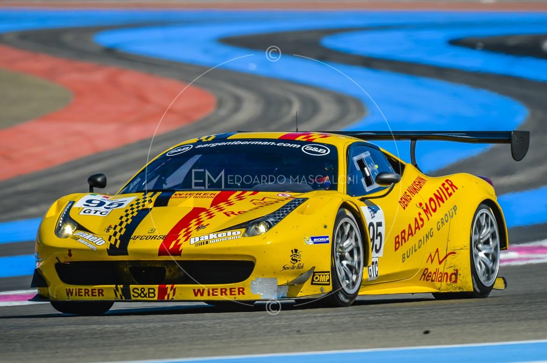 Ferrari 458 Italia GT3, European Le Mans Series, Circuit Paul Ricard