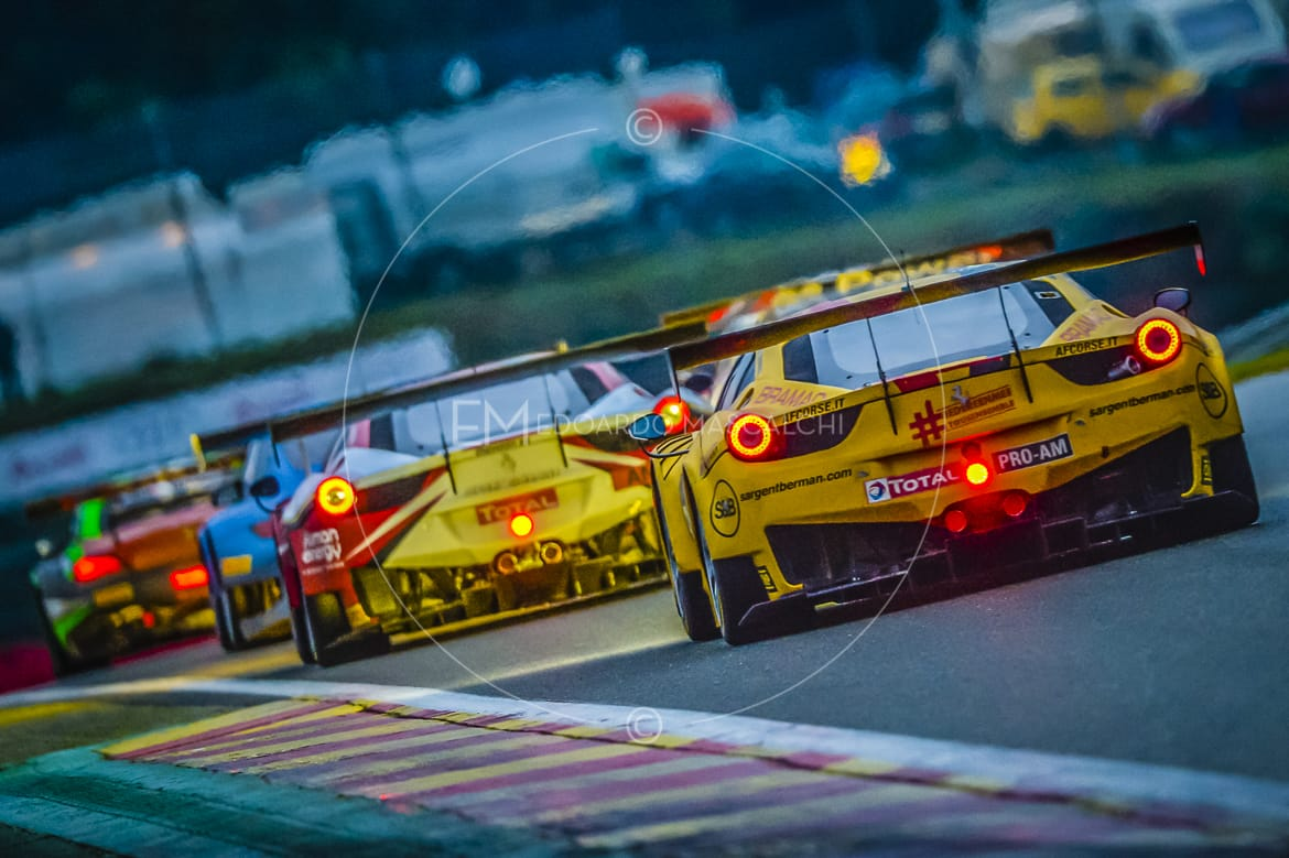 Ferrari 458 GT3 24 Hours Of Spa