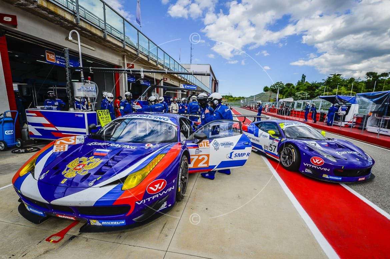 Ferrari 458 GT2, European Le Mans Series, Autodromo di Imola