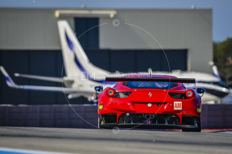 Ferrari 458 GTE, European Le Mans Series, Circuit Paul Ricard