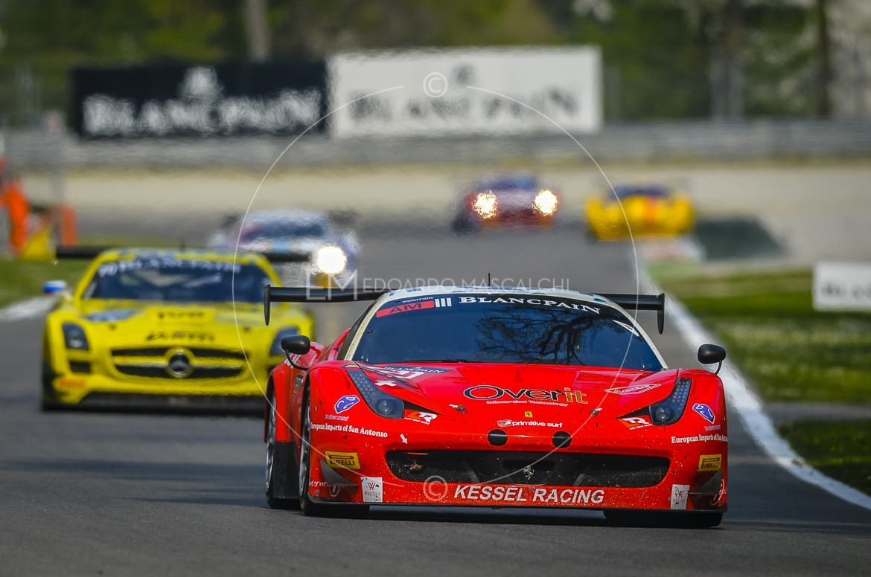 Ferrari 458 GT3, Blancpain Endurance Series, Autodromo di Monza