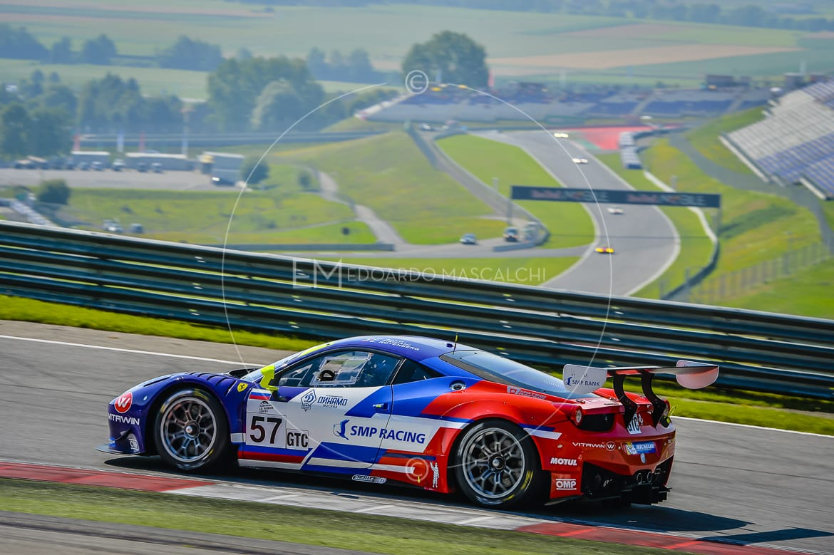 Ferrari 458 GT3, European Le Mans Series, Red Bull Ring
