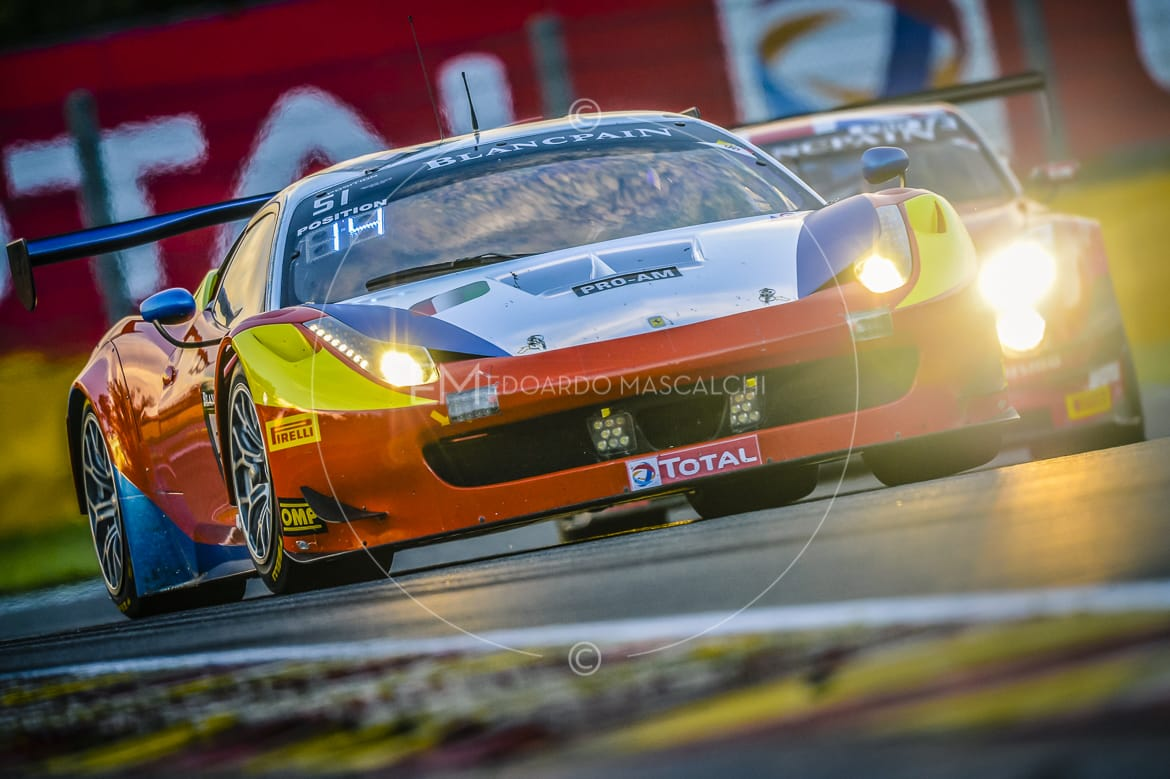 Ferrari 458 GT3, Blancpain Endurance Series, 24 Hours of Spa