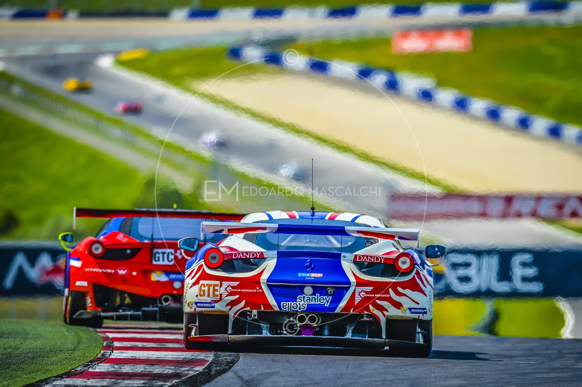 Ferrari 458 GTE, European Le Mans Series, Red Bull Ring