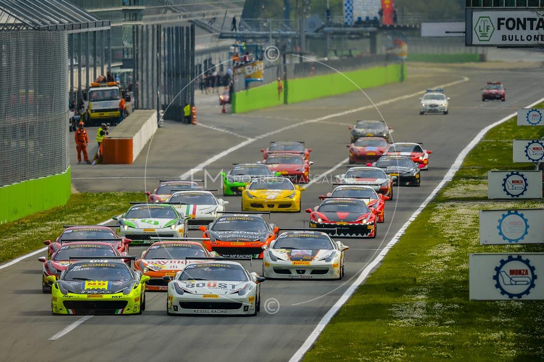 Ferrari Challenge, Partenza, Autodromo di Monza